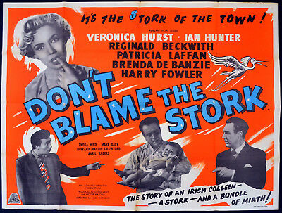 Image result for dont blame the stork 1954 poster