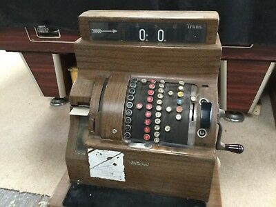 National cash register last used many years ago.....vgc for its age.HAMPSHIRE