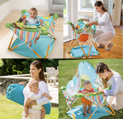 Baby Activity Jumper Exersaucer Bouncer Saucer Chair Playset Station Portable