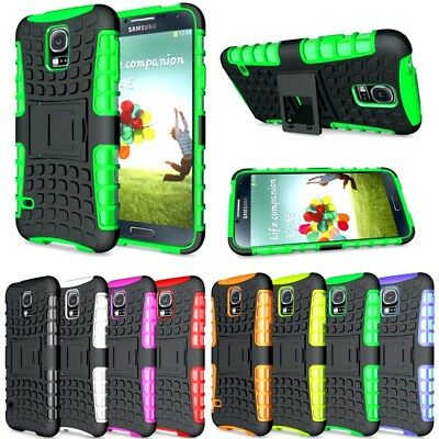 New Heavy Duty Gorilla Shock Proof kick Stand Case Cover for Nokia 2 (BLACK)