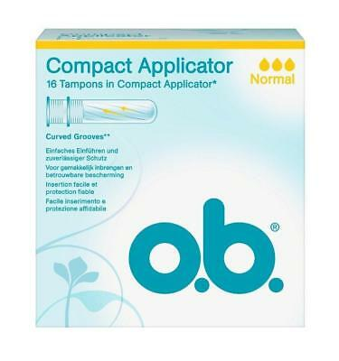 o.b. Compact Applicator Normal 16St PZN: 10126305