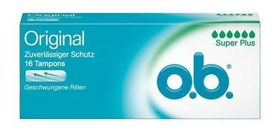 o.b. Tampons super plus 16St PZN: 4764102