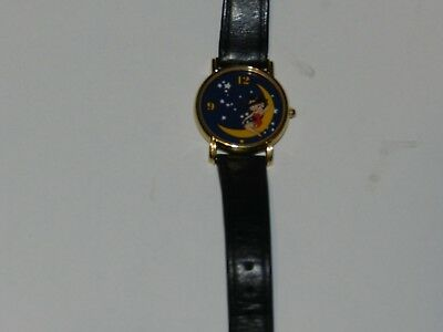 RARE Franklin Mint Betty Boop Over The Moon Wrist Watch
