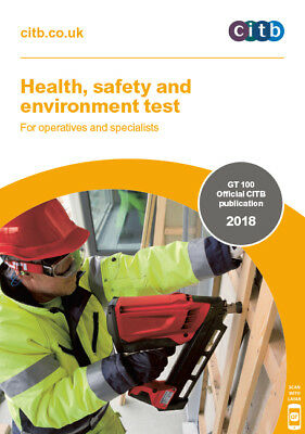 Health, Safety & Environment Test for Operatives & Specialists Bk 2018 CSCS -NEW