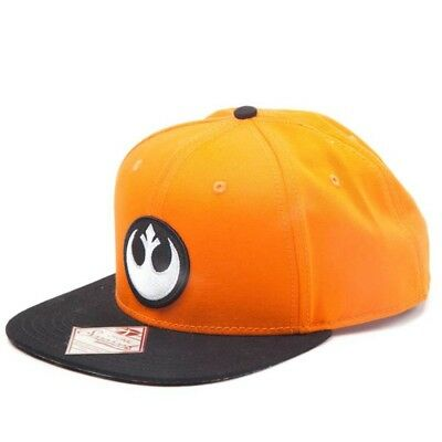 OFFICIAL Star Wars Rebel Alliance Logo Symbol Baseball Cap Snapback Hat (NEW)