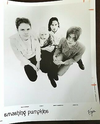 1993 Original Promo Press Photo SMASHING PUMPKINS Rock Music Band  8 x 10 ""