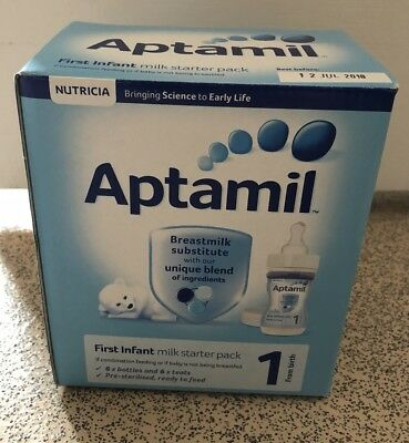 Aptamil 1 First Milk Ready to Feed Starter Pack 0-12 MONTHS 4 x 70ml