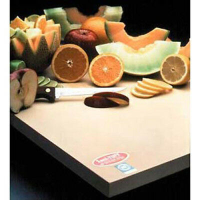 Sani-Tuff All-Rubber Cutting Board, 12x18x1/2""