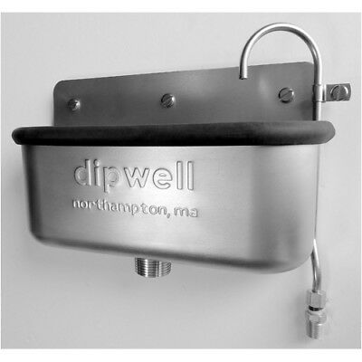 "Dipwell Stainless Steel 10"" Standard Dipwell"
