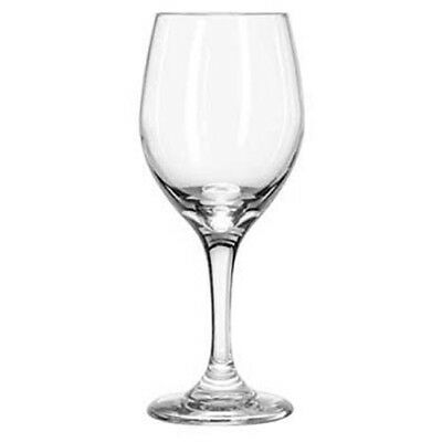 Libbey Perception Clear White Wine Glass, 8 Ounce, Case of 24