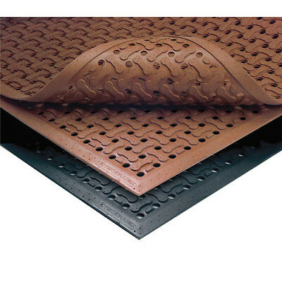 "NoTrax T18 Safety/Anti-Fatigue Mat, for Wet or Greasy Areas, 4'x 6'x 5/8"", Black"