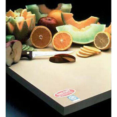 "Notrax 157651 Restaurant Rubber Cutting Board 12""Wx18""D, 3/4"" Thick"