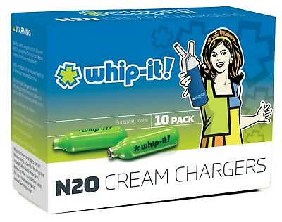 Whip-It SV0010 Whip-It SV0010 - Chargers for Cream and Foam Whippers, Pack of 10