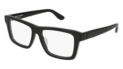 NEW Saint Laurent Monogram SL M10/F Eyeglasses 001 Black 100% AUTHENTIC