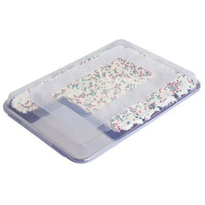 "Focus 90PSPCFL Clear Plastic Cover for Full Size Sheet Pans, 26""x18""x2"""