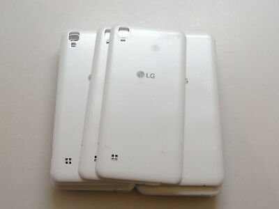 Lot of 22 OEM LG Tribute HD White Battery Doors AS-IS Most A & B Stock