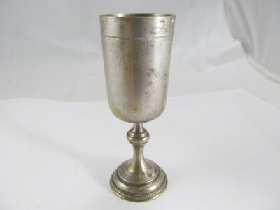 Km Silver Nicely Tooled Footed Toasting Cup V Good Condition No Mono