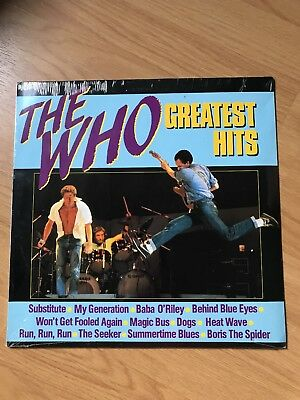 The Who Greatest Hits Vinyl LP New Factory Sealed HRS8