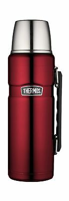 Thermos Stainless King 40 Ounce Beverage Bottle, Cranberry 40-Ounce