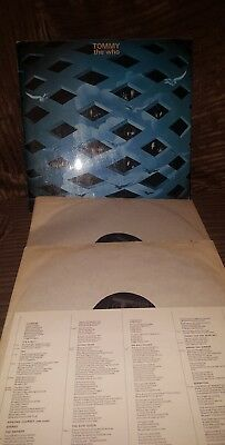 The Who Tommy Vinyl Lp Track Records 1969 Laminated 1St Press Numbered  21193