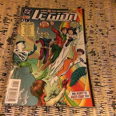 DC Comics Legion of Super-heroes issue 100 1998 96 pages Green Lantern Superboy
