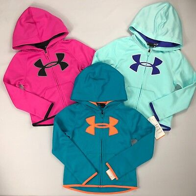 Girl's Little Youth Under Armour All Season Gear Hoodie