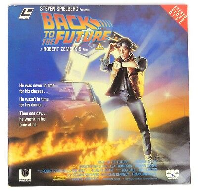 Back to Future, laserdisc, pal, RARE