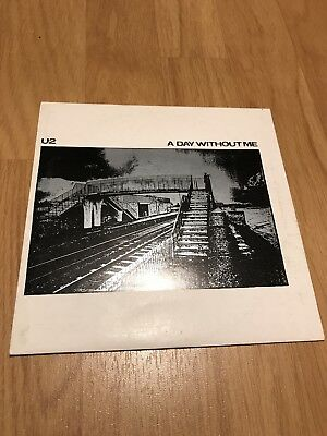 "U2 A Day Without Me 7"" Vinyl CBS"