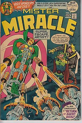 Mister Miracle 7 - 1972 - Kirby - 52 pages - Very Fine -