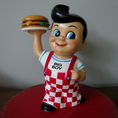 "1999 BIG BOY Hamburger Restaurant BANK Funko Products ELIAS  BROS. 8"" Tall EUC"