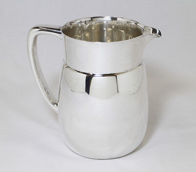 Vintage Tiffany & Co. Makers Sterling Silver Water Pitcher No Monograms 3.5 PINT