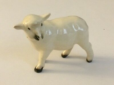 Hagen Renaker WHITE MAMA SHEEP Miniature Figurine