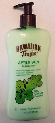 1 X Hawaiian Tropic After Sun Moisturizer Lime Coolada 16 FL. OZ.