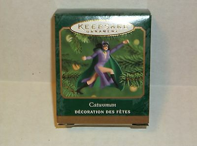 Hallmark Keepsake Ornament Catwoman  New in Box 2000 Miniature