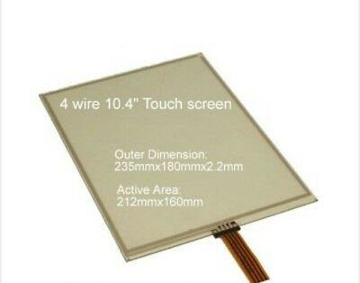 NEW For G104VN01 V.1 G104VN01V1 4 wire Touch Screen Glass Panel #H671A YD