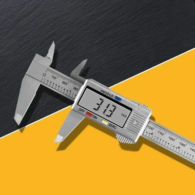 "6"" Digital Vernier Caliper150mm Stainless Steel Micrometer Electronic Gauge Tool"