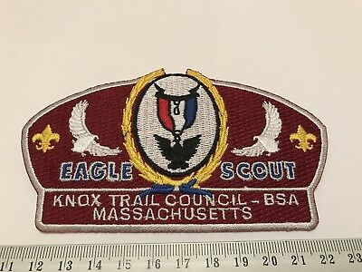 Knox Trail Council Massachusetts SA6 Eagle Scout BSA CSP Boy Scouts of America