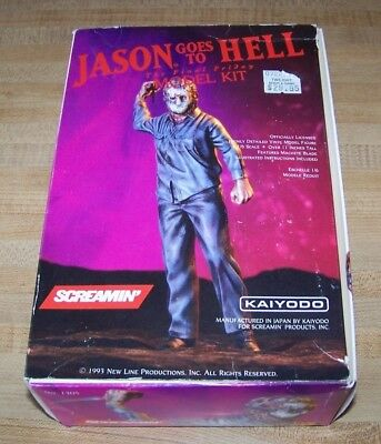 Kaiyodo Screamin Friday the 13th Jason Goes to Hell Model Kit 1/6th Scale 1993