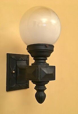 Vintage Lighting matched pair circa 1915 porch sconces