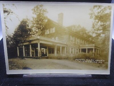 ORIGINAL 1920s PHOTO OF KLAN HAVEN KU KLUX KLAN ORPHANAGE HARRISBURG PA