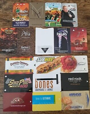 AWESOME Hotel Motel Las Vegas Nevada Door Key Casino Card Lot Rare Obsolete K.)