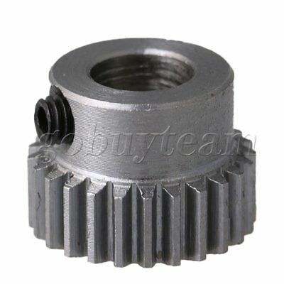 6mm Bore 45# Steel 0.5 Modulus 25 Teeth Motor Wheel Gear 13.5x10mm