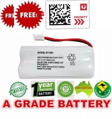 OZ J Cordless Phone Battery  For Uniden BT-694 BT-694S 2.4V 650MAH Ni-MH