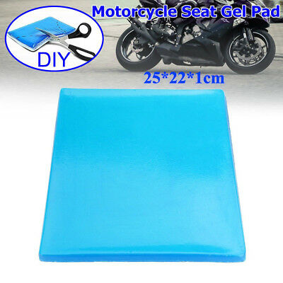 Comfort Motorcycle Seat Gel Pad Shock Absorption Mats Cushion Accessories AU