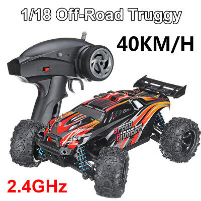 40km/h 1:18 4WD Off-Road Truggy High Speed Monster RC Racing Car Remote Control