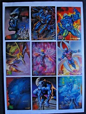 1995 Fleer *marvel Masterpieces* Complete 151 Card Base Set + Wrappers**rare**