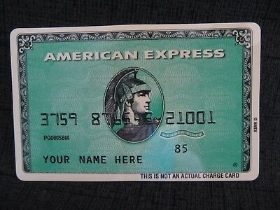1985 American Express Credit Card Magnet