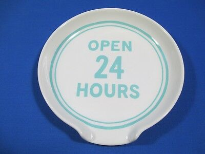 Kate Spade Lenox Open 24 Hours Orders Up Spoon Rest Kitchen Turquoise *new*