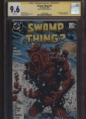 Swamp Thing #57 CGC 9.6 SS Rick Veitch 1987 ALAN MOORE