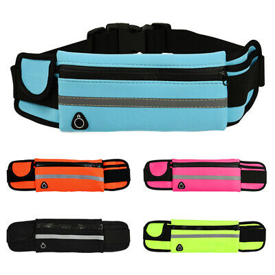 Anti-theft Running Travel Sports invisible Wallet Phone Zip Belt Waist Bag Pouch